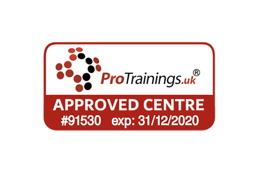 Badge to show FS Training is a Pro Trainings approved centre